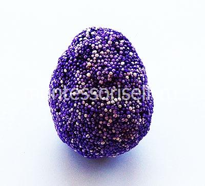Яйцо из пластилина