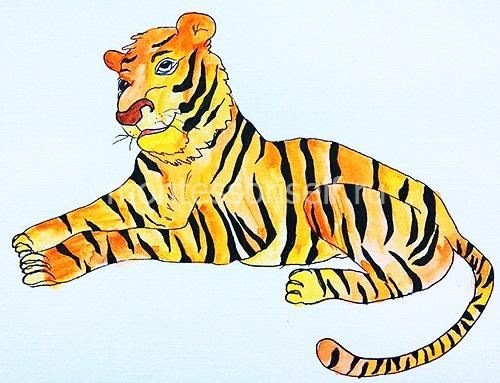 "Рисунок ""Тигр"" 1"