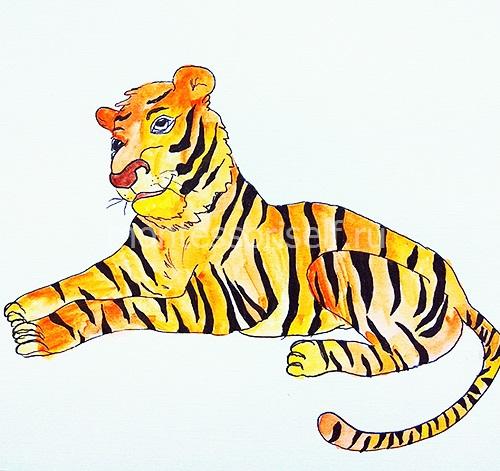 "Рисунок ""Тигр"" 2"