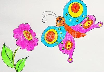 "Рисунок ""бабочка"" 1"