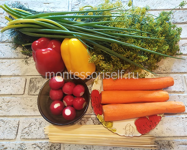 Овощи для поделки